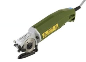 """Reliable XD-1005A Hand Held 2-1/2"""" Rotary Knife Cloth Cutter from Suprena in Japan"""