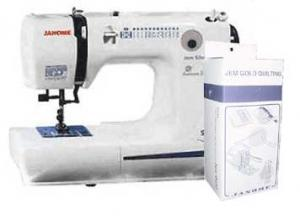 Janome Jem 660 QUILT ENSEMBLE 12 LB Quilting & Sewing Machine  5 Piece Quilting Feet, Guide Bar, Darning Plate USA ONLY - REPLACES 662