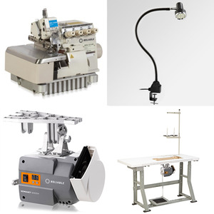 Reliable MSK3316NGG760 Heavy Duty 5-Thread Safety Stitch Serger, Top Tractor Feed, 4mm Length, 7mm Width, 6mm Foot Lift, Servo Motor Power Stand, Lamp