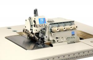 Reliable MSK-3316-GG7-60H Heavy Duty Safety Stitch Serger with Tractor Feed and Power Stand with 1/2HP Motor