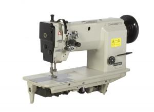 Reliable MSK-8220B Two Needle, Large Bobbin, Needle Feed Industrial Machine with Table,Stand and 1/2 HP Motor