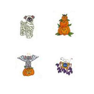 OESD  795 BOO TO YOU.Pes Embroidery Card