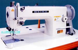 Seiko H-2BL-AE Single needle, Large Horizontal Axis hook,Walking foot,  Drop Feed and Alternating Pressers, Lockstitch machine with Power Stand