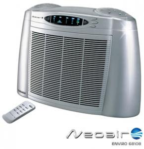 NeoAir 68108 VeryQuiet HEPA Carbon Filter Air Purifier Cleaner, 25-39W, 11.5' Air Flow/Sec, Wireless Remote, 450 Sq Ft rooms, Home or Office, 10Lb
