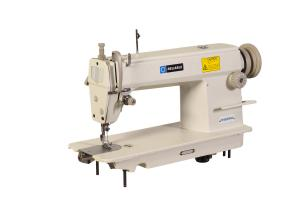 Reliable MSK-8550M Single Needle, Straight Stitch, Drop Feed Industrial Sewing Machine with Economy Stand and 1/2 HP Motor