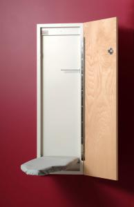 IRON, A, WAY, NE-242, 42, Built, In, Surface, Mounted, Board, Flat, Wall, Non, Recessed, Piano, Hinge, Door, Cover, Pad, Made, USA
