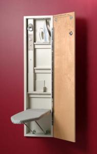 IRON-A-WAY, A-46, Built in, Ironing Board, Light, Timer, Auto Shut-Off,