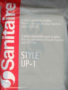 Sanitaire 62100, 62101, UP-1 5Pack, High Filtration Bags for SC6600A, System Pro 6610, Electrolux Discovery II III, ProLux Vacuum Cleaners since 1986