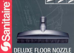 Sanitaire SP23, System Pro, Deluxe Floor, Nozzle Tool, Hard Floor, Nozzle, Special soft bristles made of natural fibers