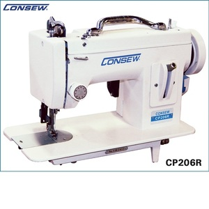 8575: Consew CP206R Portable Straight Stitch Walking Foot Sewing Machine 110 or 220V