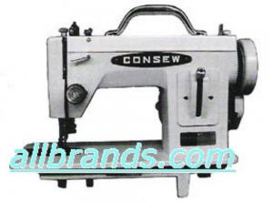 Consew CP206R Portable Walking Foot Straight Stitch All Metal Upholstery Machine - Like Sailrite LSZ1 &, Thompson PWZ500