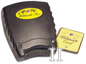 Vikant Ultimate Box II BASIC 2 Slot Embroidery Memory Card Reader Writer Box, Blank Card 1, Upload Download, .pes, .hus & .pcs, .art Formats, 6 Free*