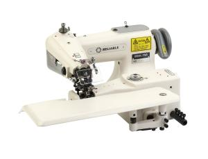 Reliable MSK-755 Industrial Blindstitch Machine With Skip-Stitch with Table,Stand and 1/2 HP Motor