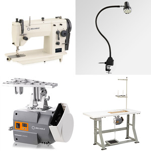 Reliable 2200SZ 9mm ZigZag, 6mm Straight Stitch Industrial Sewing Machine, Servo Motor Power Stand, LED Lamp (Replaces Singer 20U73)