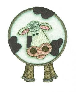 Amazing Designs/Sensational Series Plush Pals Cows PP8 Card For Brother, Babylock, BernianDeco 500, 600, 650, White, Simplicity, Multi-Formatted CD