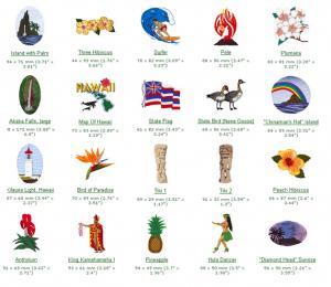 Cactus Punch AM04 Hawaii, No Ka Oi Embroidery CD