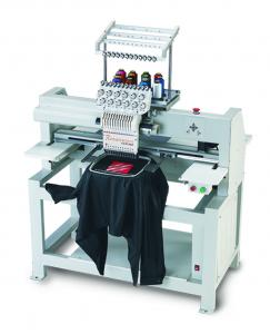 """Great Notions Renaissance Cantaré 12-Needle, 11.5"""" X 17.5"""" Commercial Embroidery Machine, Roller Stand, Starter Kit & 5000 Designs CD"""