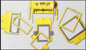 """Great Notions Renaissance 7.5"""" by 3"""" Gator Clamp Frame for ICTCS2 Base"""