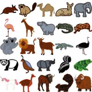 Cactus Punch APL02 Baby Animals Wild (Applique) Embroidery CD