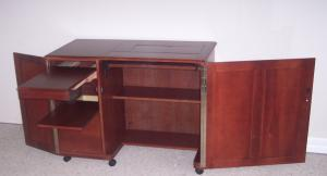 Delta 370 USA Series Large Cherry Sewing Console