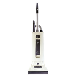 SEBO Automatic X4 9570AM, 10 Year Extended Warranty! Dark Gray Upright Vacuum Cleaner, 1300W, 10A, Auto Electronic Height Adj, Life Belt, Germany