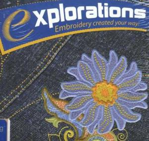 OESD Explorations Galaxy v1.5 Wilcom Machine Embroidery Software, Digitizing, Converts Home Formats, Bernina .art & Thread Colors. Training CD, 3Free*