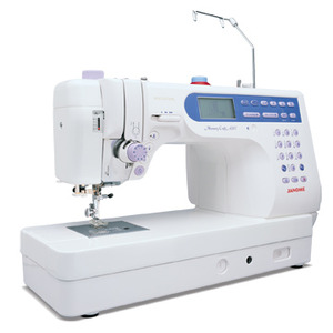 "Janome, MC6500P, Singer Studio S18,  mc6600, janome 6600, janome 6500, 135 Stitch, Workhorse Sewing, Quilting Machine, 6500, 7BH, 2 Font, 9x5"" Arm, Table, Thread,Trim, Needle,Up, Down,1000 SPM, Speed Limit, Knee Lift"