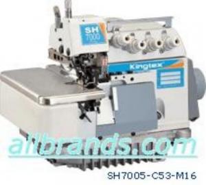 Kingtex SH7005  2 Needle  5 Thread High Speed overlock/ safety stitch machine