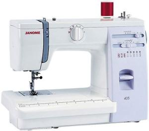 Janome 405 5-Stitch Sewing and Quilting Machine, 4-Step Buttonhole and  20/3 Year Extended Warranty USA ONLY