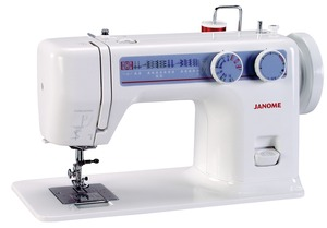 Janome 712T, No Electrical, 10-Stitch, Treadle Powered, Flatbed Sewing Machine, Head Only, No Electrical, Same machine, as Janome ClassMate, S750, with Built In Motor
