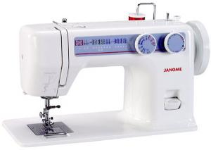 Janome 712T 10Stitch Buttonhole DropInBobbin Sewing Machine Head NO MOTOR, FLATBED 14.5x7