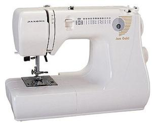 Janome Jem Gold 660 12-Stitch Lightweight Compact Sewing Machine, Drop-in Bobbin, Buttonhole, 12 Lb, REPLACES Jem 661/Silver 662- 25/3 Yr Ext Warranty