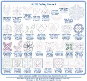 Cactus Punch QLT01 Quilting 1 Embroidery Designs Multi Format CD