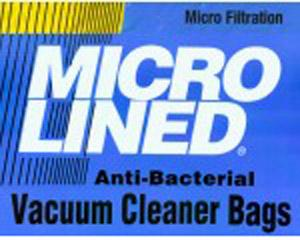 Micro-Lined Filtration Sharp PU-2 Type Upright Vacuum Cleaner Bags 10pk