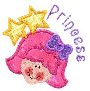 Sew Many Designs Little Miss Priss Applique Collection Multi-Formatted CD