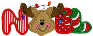 Sew Many Designs Holiday in Tinsel Town Applique Collection Multi-Formatted CD
