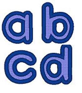 Sew Many Designs Lower Case Alphabet Applique Collection Multi-Formatted CD