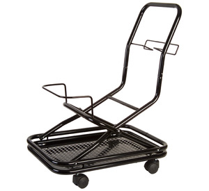 Vapor Clean 4 Wheel Transport Roller Trolley on Casters, Carries Desiderio, Auto, & Plus Commercial Dry Vapor Steam Cleaners with Accessories & Tools