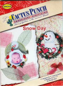 Cactus Punch SNO04 Snow Day  Multi-Formatted CD