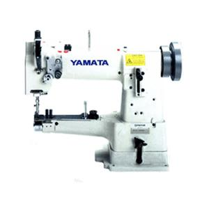"Yamata FY335A 10"" Arm Cylinder Bed Walking Foot Sewing Machine and Stand, 1/2"" Foot Lift, 4SPI Stitches Per Inch, Reverse, Power Stand up to 2500SPM"