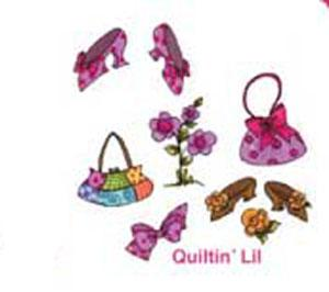 Loralie Embroidery Designs 630066  Fun Ladies Accessories Multi-Formatted CD