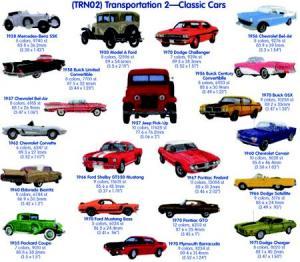Cactus Punch TRN02 Transportation 2: Classic Cars
