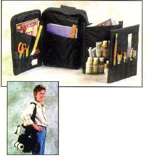 Canvas Collectibles 10007 Crafter's Carry All Storage Bag with Insert