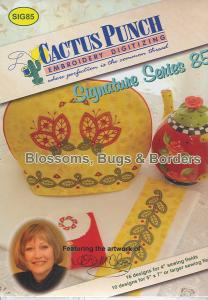 Cactus Punch SIG85Jill McCloy's Blossoms, Bugs & Borders Multi-Formatted CD
