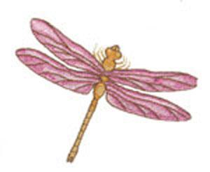 Amazing Designs Great Notions 1498 Dragonflies II Multi-Format Embroidery CD