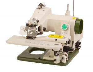 Tacsew T500FS Metal Portable Blind Hem Stitch Sewing Machine T-500FS, Curved Needle, Skip Stitch, Knee Lever, Cylinder Arm, TAIWAN - FACTORY SERVICED