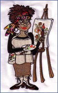 9660: Loralie 630279 Teachers Embroidery Designs Multi-Formatted CD
