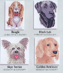 Sudberry House D5600 Dog Portraits Machine Cross Stitch Embroidery Multi-Formatted CD