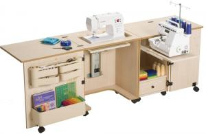 Sylvia 1000 Dual Design Sewing Machine Cabinet, ...