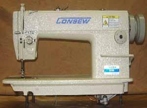 Consew 315R High Speed, Single Needle, Drop Feed ,Needle Feed Lockstitch Sewing Machine Assembled with Motor